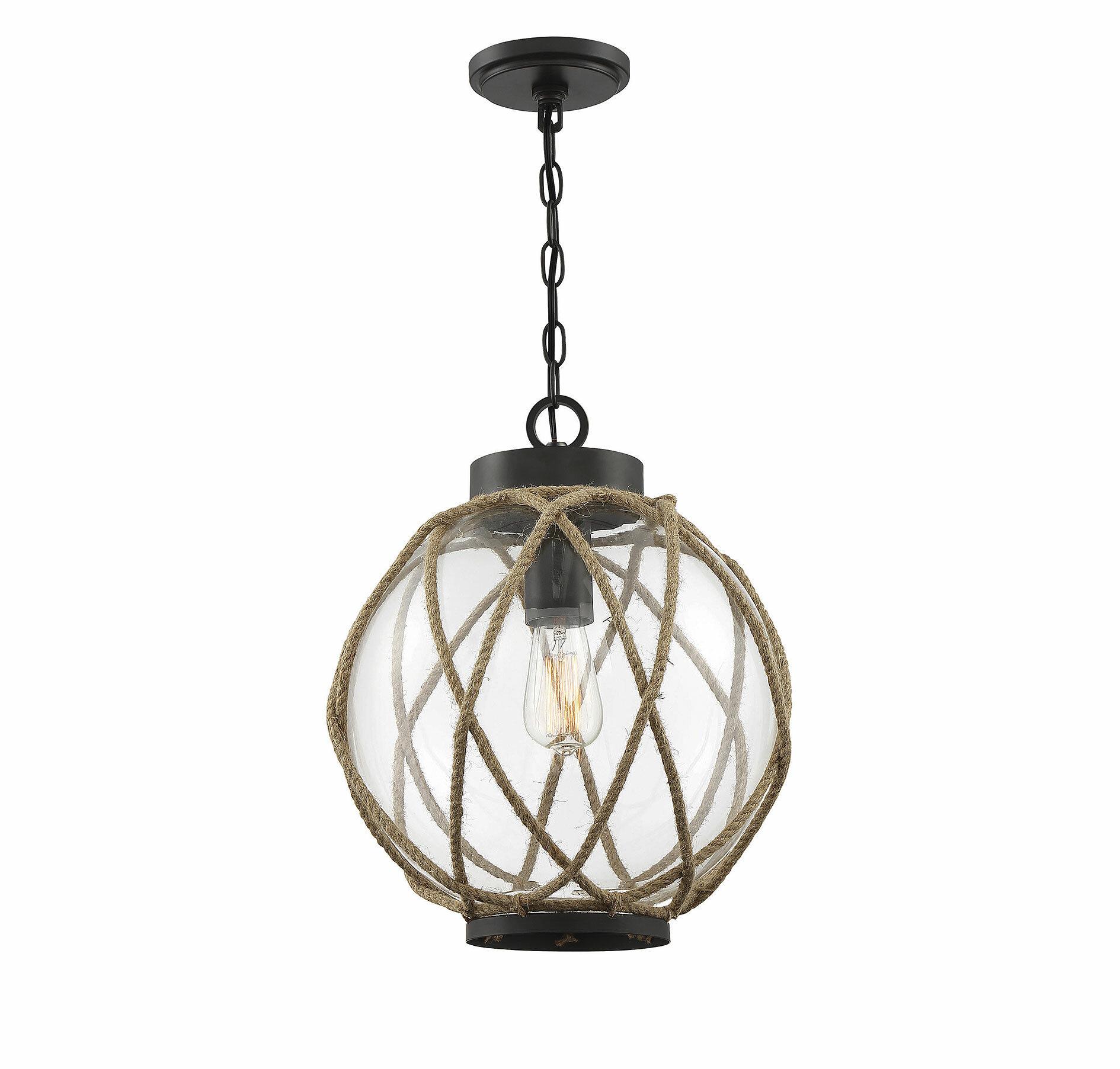 Oundle 1 Light Single Globe Pendant Birch Lane
