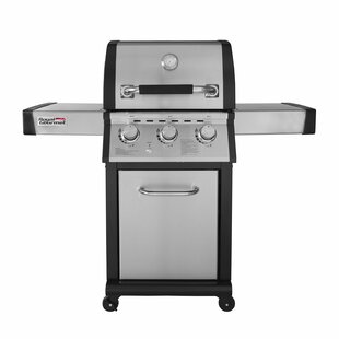 Mirage Liquid Propane Gas Grill With Side Burner By Royal Gourmet Corp