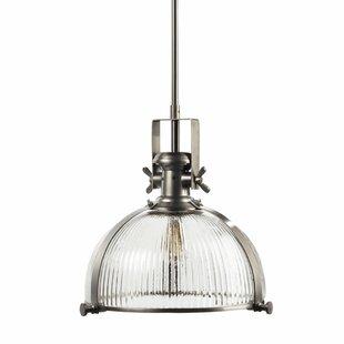 Brayden Studio Millbourne 1-Light Dome Pendant