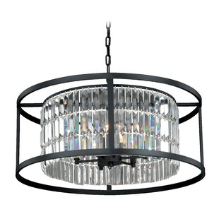 Vaxcel Catana 6-Light Drum Chandelier