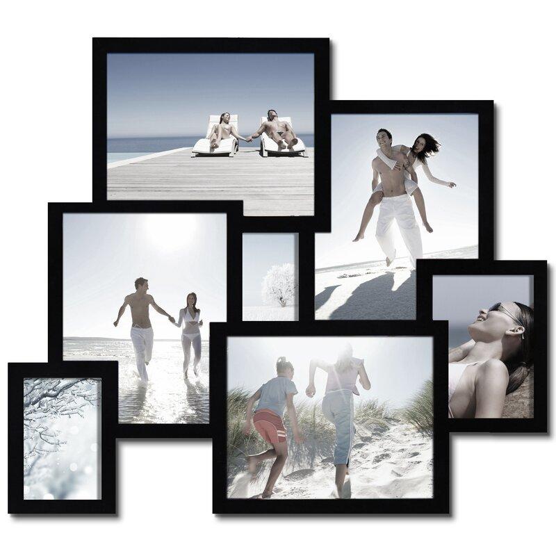 Latitude Run Piland 7 Opening Collage Picture Frame & Reviews   Wayfair