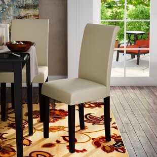 Ebern Designs Keesee Parsons Chair (Set of 2)