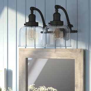 Compare prices Burlingame 2-Light Vanity Light ByWilliston Forge