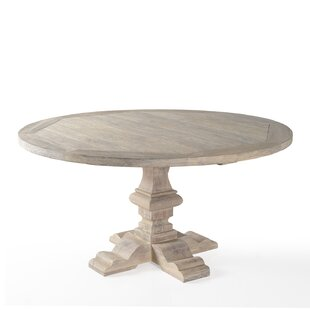 Franz Solid Wood Dining Table by One Alli..