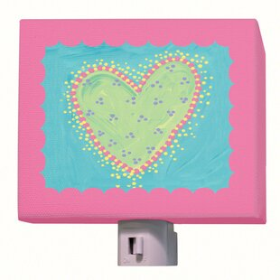 Oopsy Daisy Dots Heart Night Lights