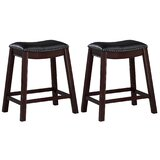 Montoya 24.5'' Counter Stool (Set of 2) by Longshore Tides