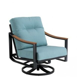 Brazo Swivel Action Patio Chair with Cushion
