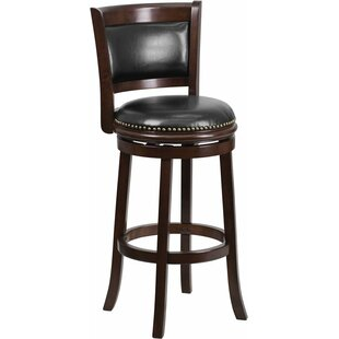 Bargain Jenkin 29'' Swivel Bar Stool by Charlton Home