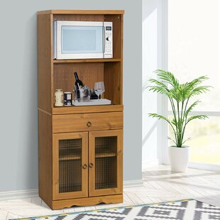 Montville Corner Curio Cabinet By Alpen Home