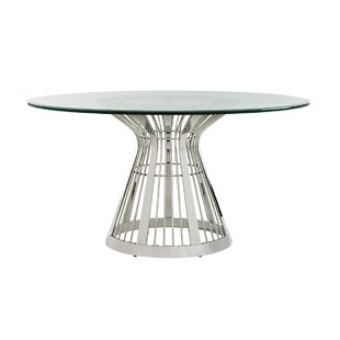 Ariana Riviera Glass Top Dining Table