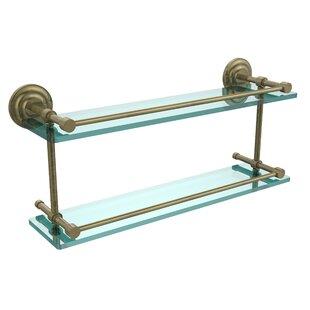 Allied Brass Que New Wall Shelf