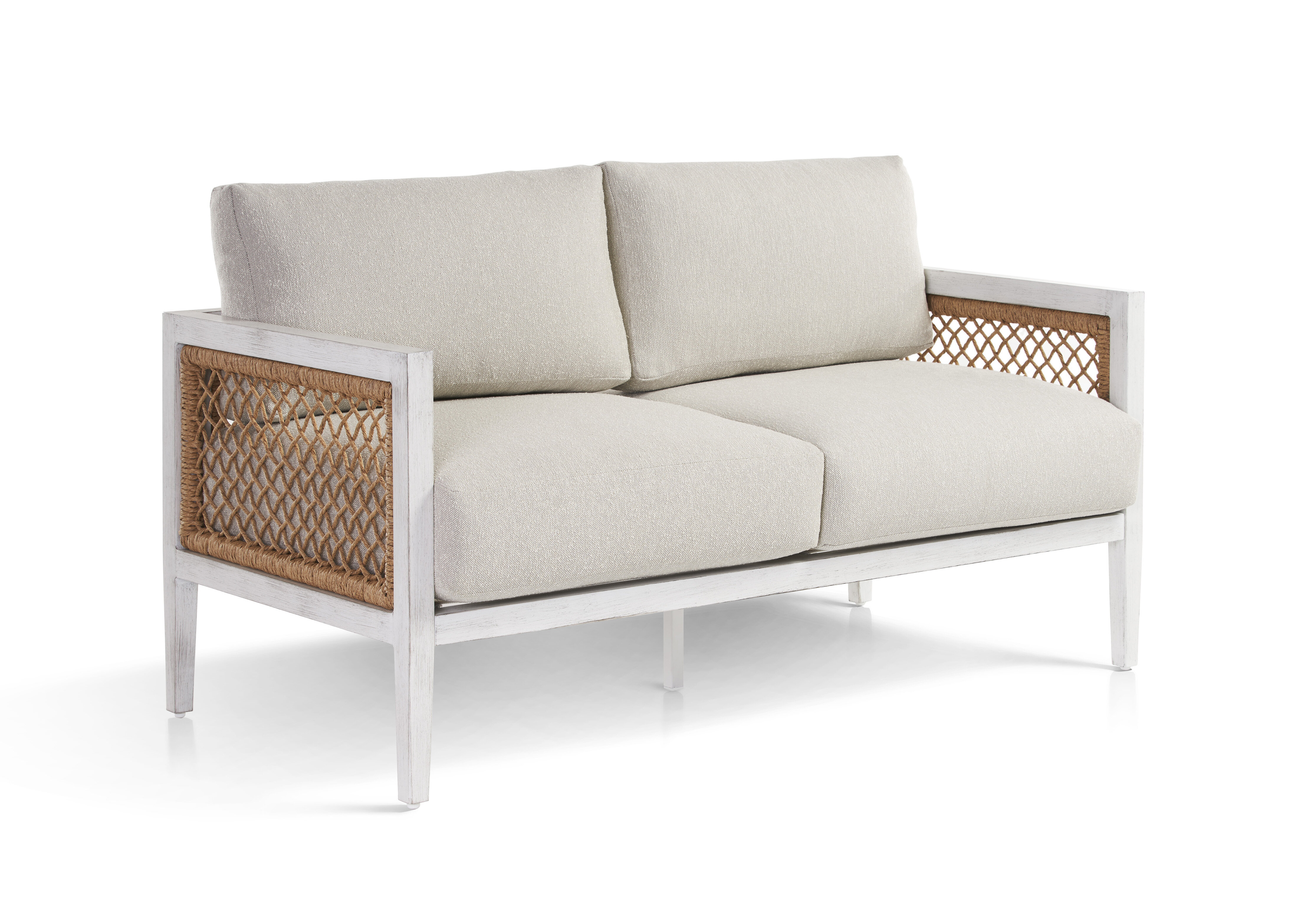 Bonnie Patio Loveseat with Cushions