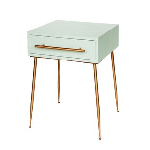 Kimble End Table with storage by Everly Quinn