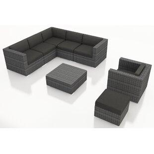 Hobbs 8 Piece Sunbrella Sectional Set with Cushions