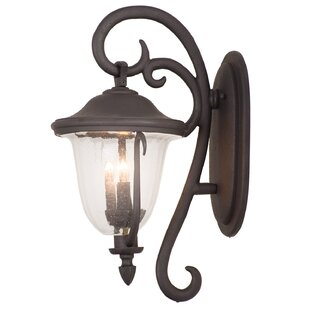Affordable Santa Barbara 2-Light Outdoor Wall Lantern By Kalco
