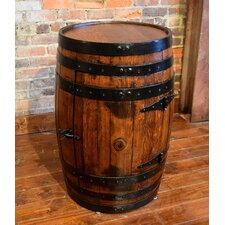 Shooter's Cabinet Barrel Bar 1 Door Chest by William Sheppee