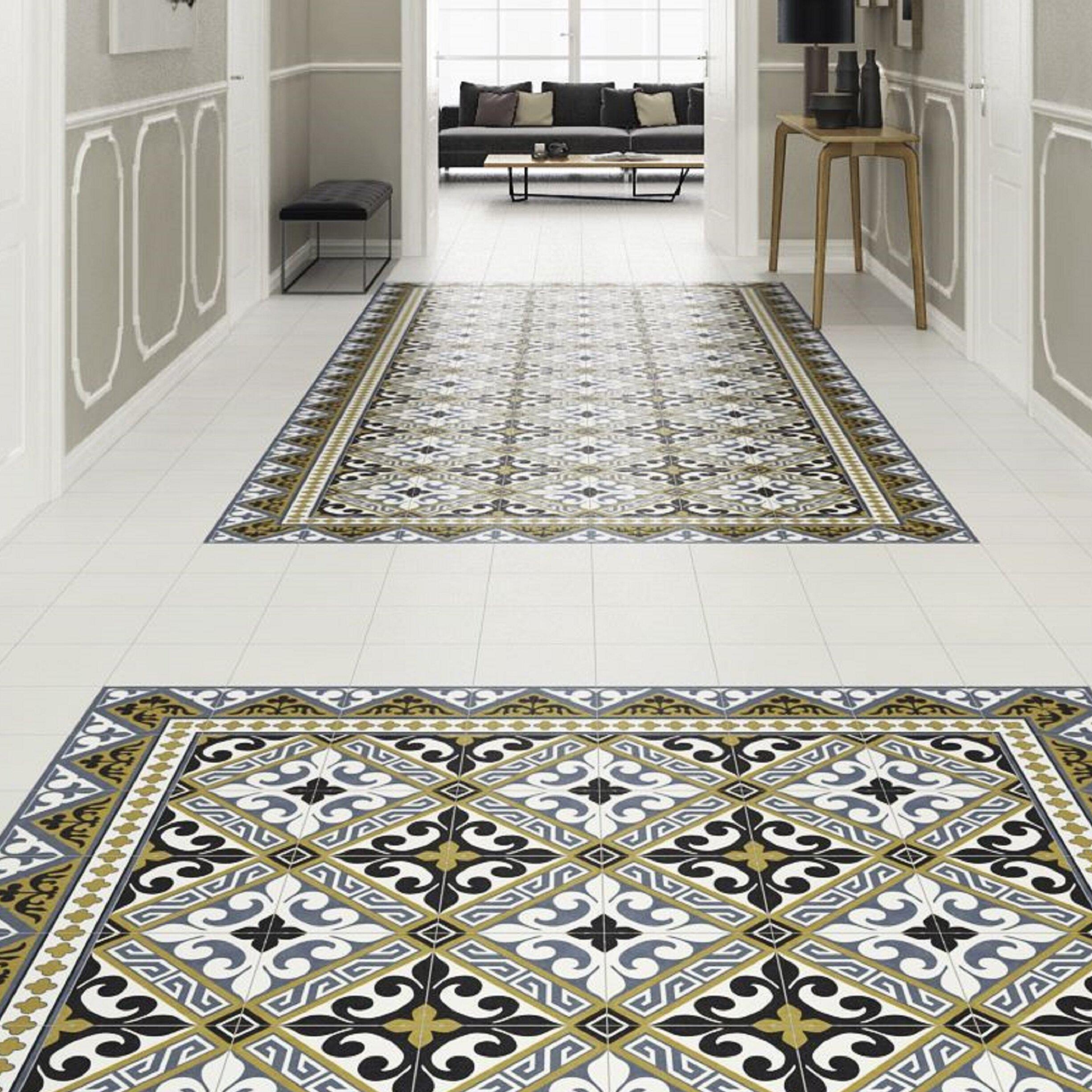 Elitetile Seni Orleans Cenefa 10 X 10 Porcelain Floor Wall Border Tile Wayfair