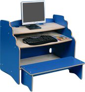 Computer Desk with Bench by Twoey Toys