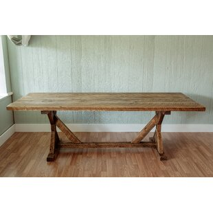 Mitzi Reclaimed Wood 30 Dining Table Millwood Pines