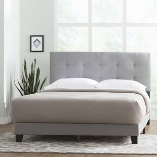 Navi Upholstered Panel Bed