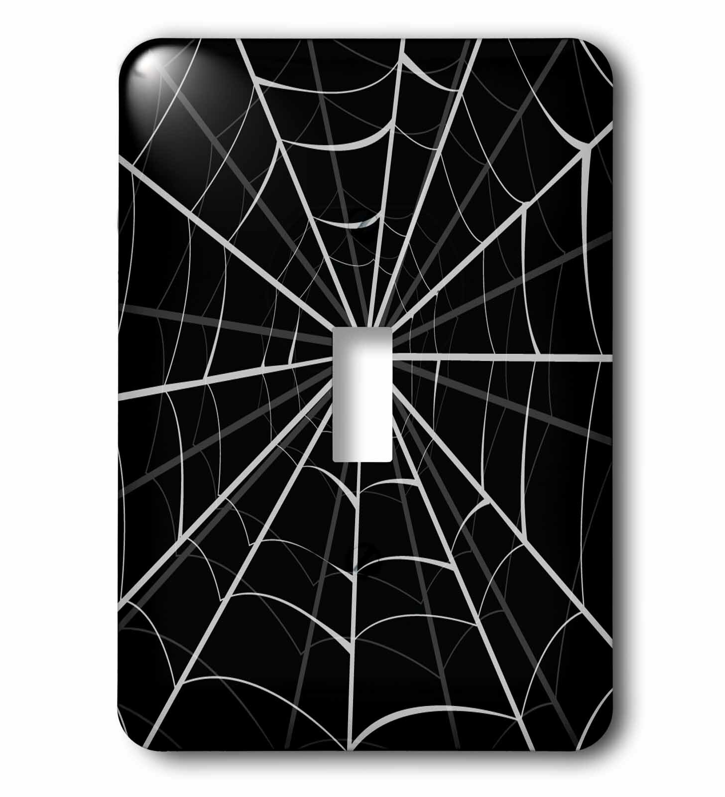 3drose A Big Spider Web Image 1 Gang Toggle Light Switch Wall Plate Wayfair