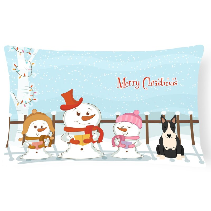 The Holiday Aisle Daniella Merry Christmas Indoor Outdoor Lumbar Pillow Wayfair