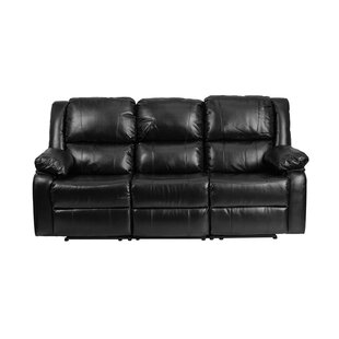Harmony Series Leather Reclining Sofa Offex