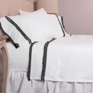 Dainty Ruffle Cotton Sheet Set