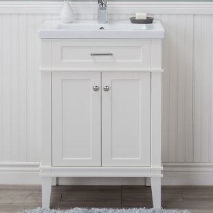 Duron Ceramic 24 Single Vanity Set by Rosecliff Heights