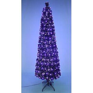 Black Pre Lit Christmas Trees You Ll Love Wayfair Ca