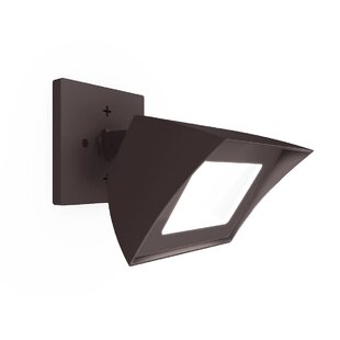 WAC Lighting Cube Architectural LED Outdoor Flush Mount