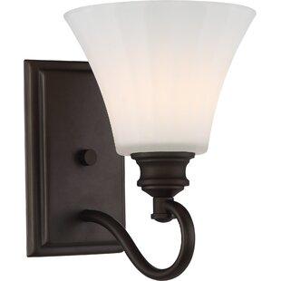 Charlton Home Eich 1-Light LED Bath Sconce