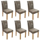 Box Cushion Dining chair Slipcover (Set of 6) by Canora Grey