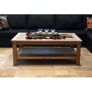 Gage Teak Coffee Table By Sol 72 Outdoor