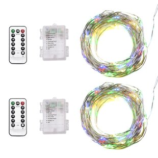The Holiday Aisle Kaminski 33 ft. 100-Light Novelty String Lights (Set of 2)