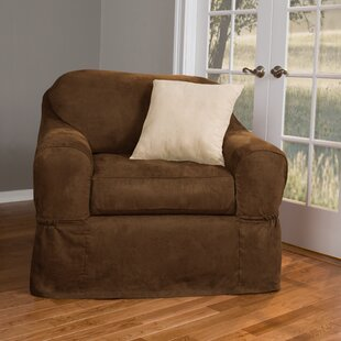 Bearup Separate Seat Box Cushion Armchair Slipcover By Darby Home Co