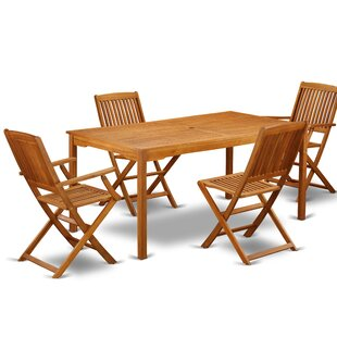 Ean 5 Piece Patio Dining Set by Longshore..