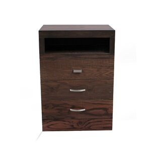 REZ Furniture Munich 3 Drawer Dresser