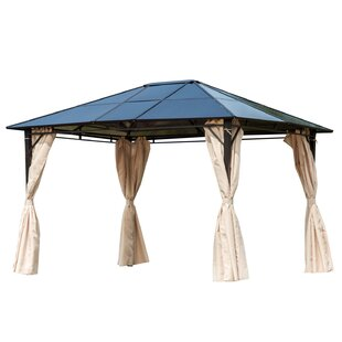 10 Ft. W x 12 Ft. D Metal Patio Gazebo by Outsunny