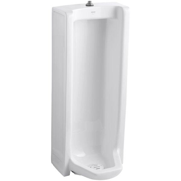 Kohler Branham Washout Floor Mount 1 GPF Urinal With Top Spud U0026 Reviews |  Wayfair
