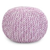 Kennedale Hand Knit Pouf by Bungalow Rose