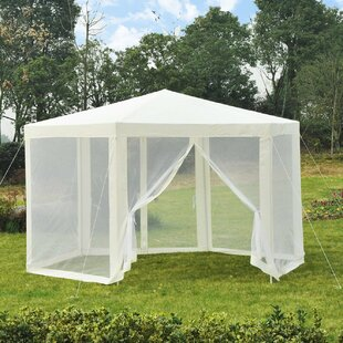 2m W X 2m D Metal Gazebo With Soft-Top By Sol 72 Outdoor