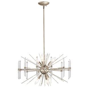 Irton 6-Light Sputnik Chandelier