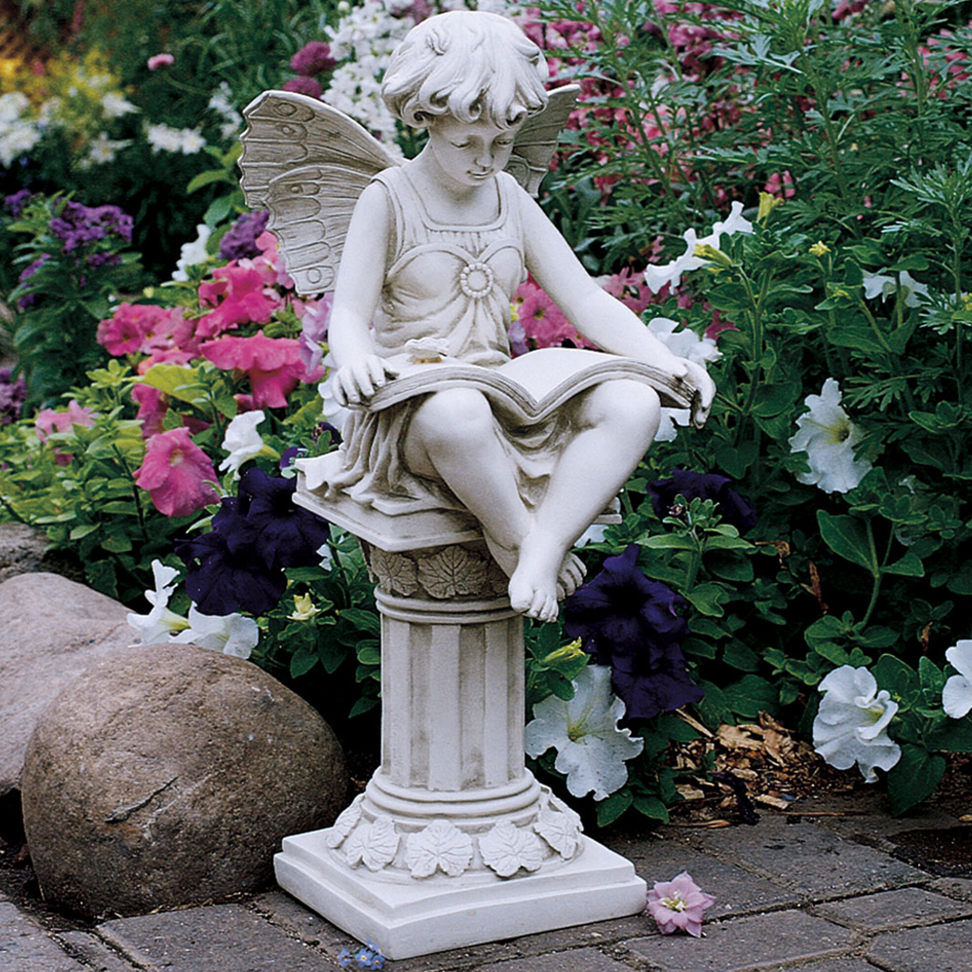 Charmant Design Toscano The British Reading Fairy Statue U0026 Reviews | Wayfair