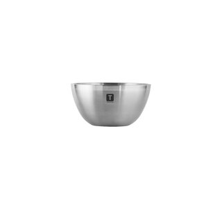 Gourmet Double-Wall Stainless Steel Mixing Bowl