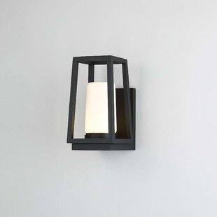 Breakwater Bay Wilmoth 1 Light LED Outdoor Sconce