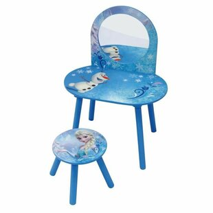 Greenock Dressing Table Set With Mirror By Zoomie Kids
