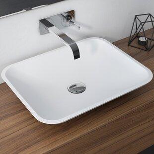 Reviews Natura™ Rectangular Vessel Bathroom Sink By Kraus