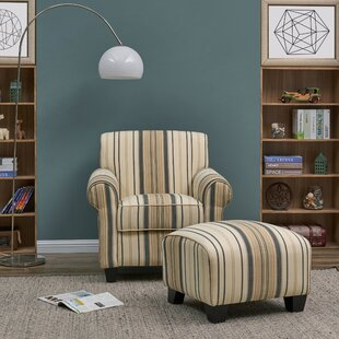 Aine Armchair and Ottoman by Andover Mills