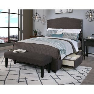 Almodovar Upholstered 2 Piece Panel Headboard and Bench by Darby Home Co